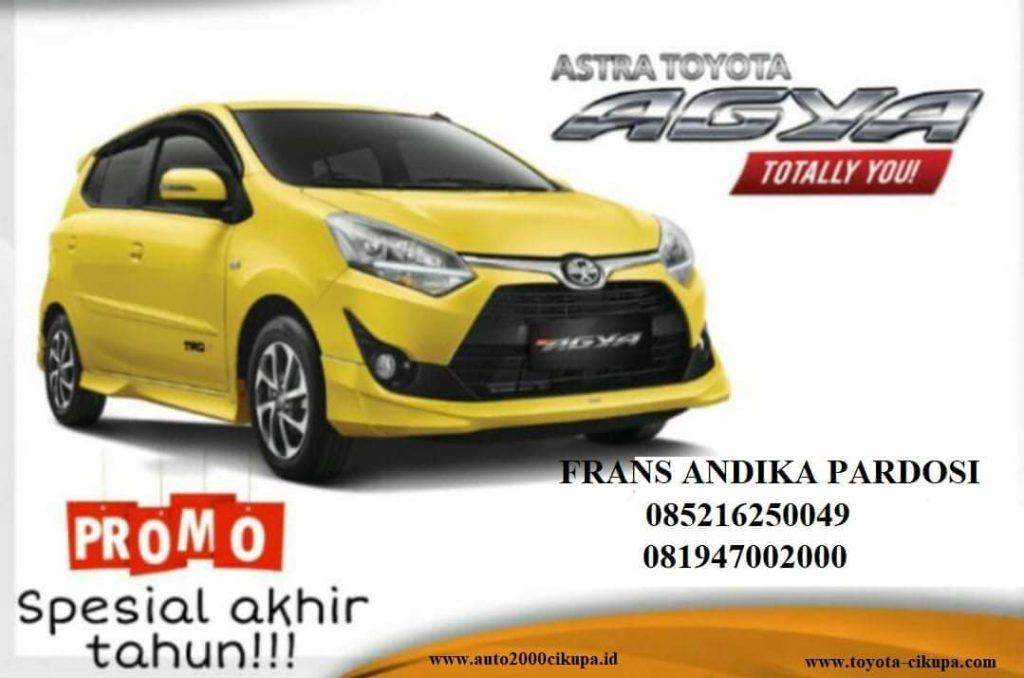 Spesial Promo Akhir Tahun Agya Auto 2000 Cikupa 2019 Toyota Cikupa
